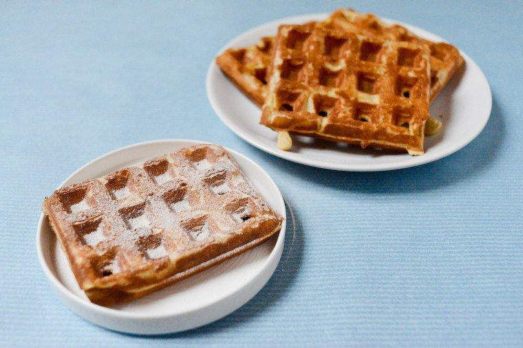 Light and Crisp French Waffles Recipe | Chocolate & Zucchini