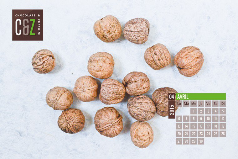 April 2015 Desktop Calendar