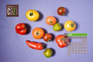 August 2015 Desktop Calendar