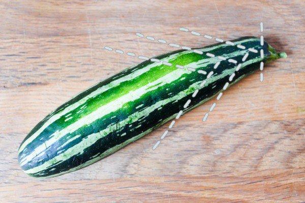 How to Slice Zucchini