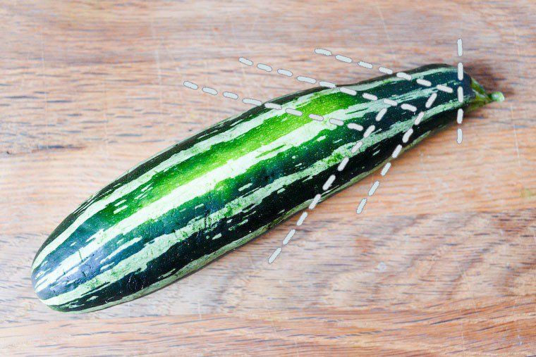 How to Slice Zucchini