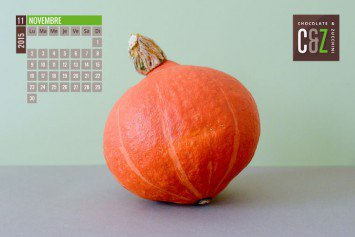 November Desktop Calendar from Chocolate & Zucchini
