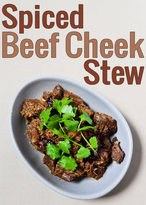 Spiced Beef Cheek Stew