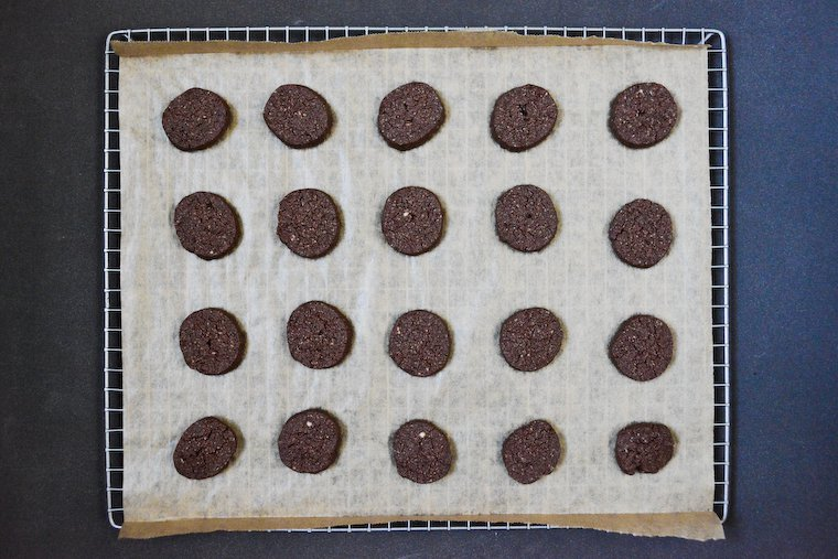 Gluten-free Chocolate Sablés (Just 4 Ingredients!)