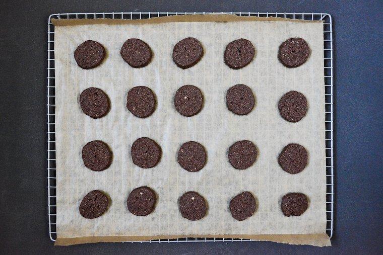 Gluten-free Chocolate Sablés (Just 4 Ingredients!)