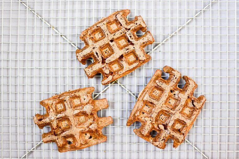 Sprouted Buckwheat Waffles