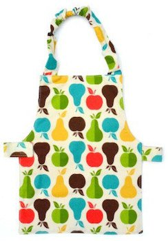 Handmade apron for a toddler or child.
