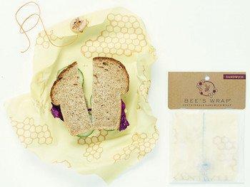 Sandwich wrapper from Bee's Wrap.