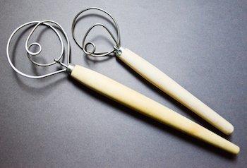 Danish dough whisks