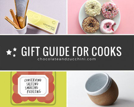 Gift Guide for Cooks 2015