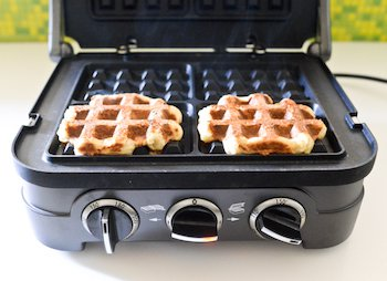 The griddler and waffle iron from Cuisinart.