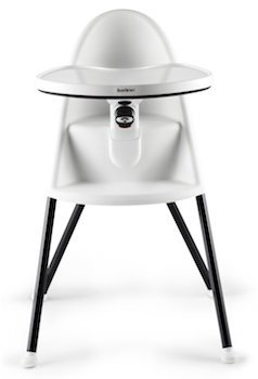 The high chair from Babybjorn.