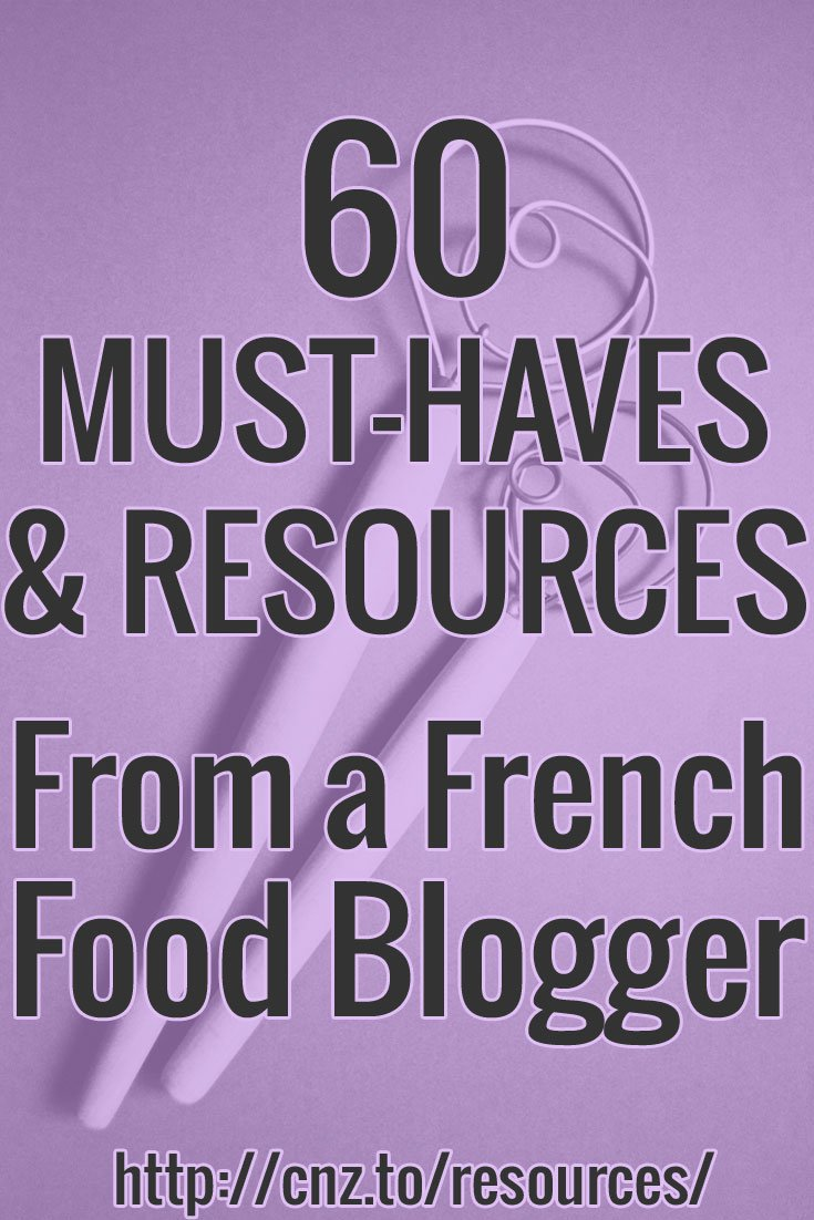 Top resources from French food blogger Clotilde Dusoulier: cooking and baking equipment, essential books, blogging tools, and parenting resources.