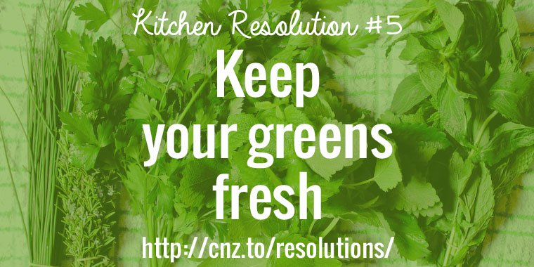Keep your greens fresh