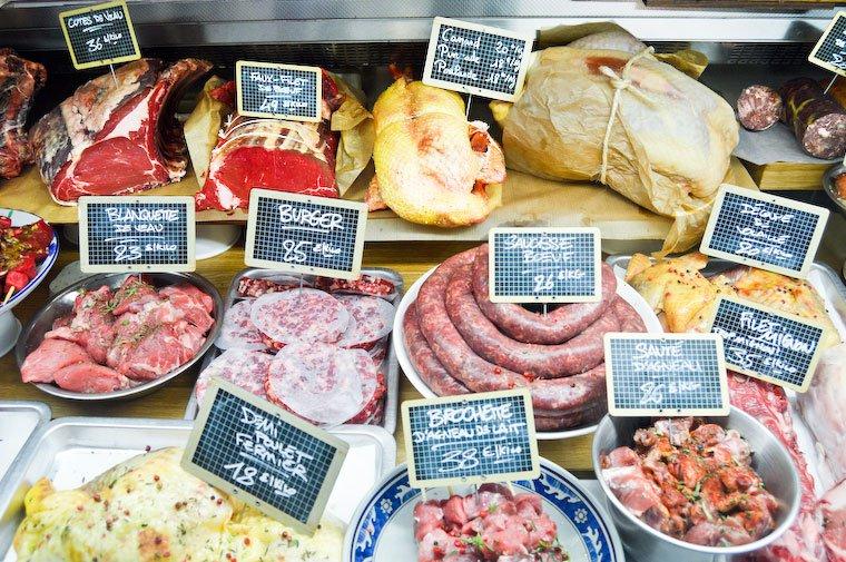 Viande & Chef display