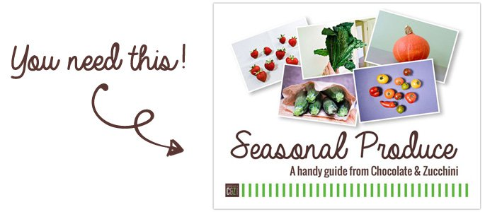 Seasonal Produce Calendar Download