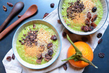 Green Smoothie Bowls for Winter
