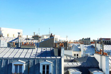 Rooftop view near Bastille