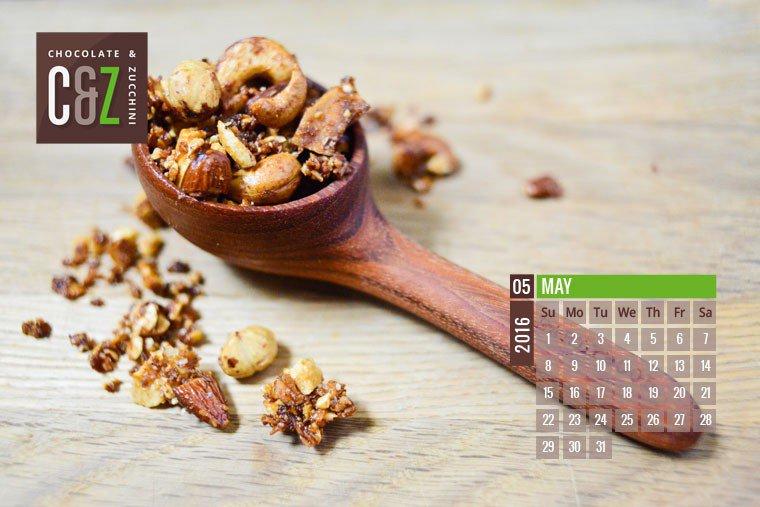 May 2016 Desktop Calendar