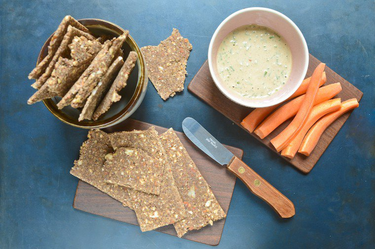 Raw Buckwheat Crackers Recipe