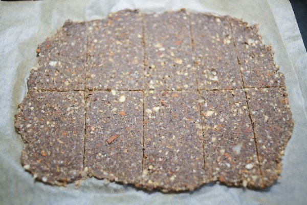 Buckwheat crackers score
