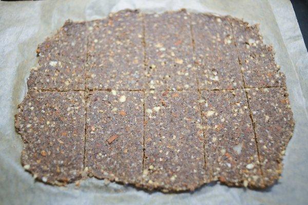 Buckwheat crackers score