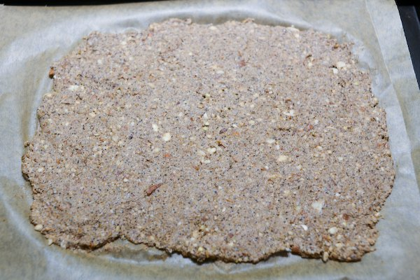 Buckwheat crackers spreading
