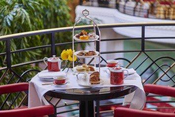 Vegan Tea-Time at the Shangri-La