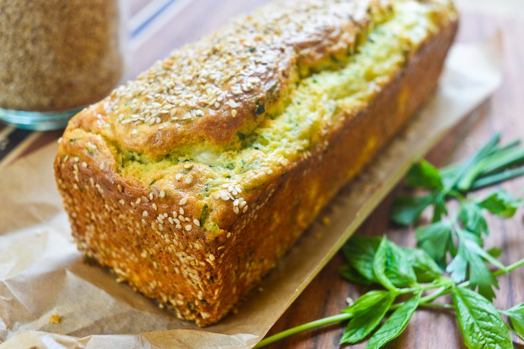 Feta and Fresh Herb Quick Bread