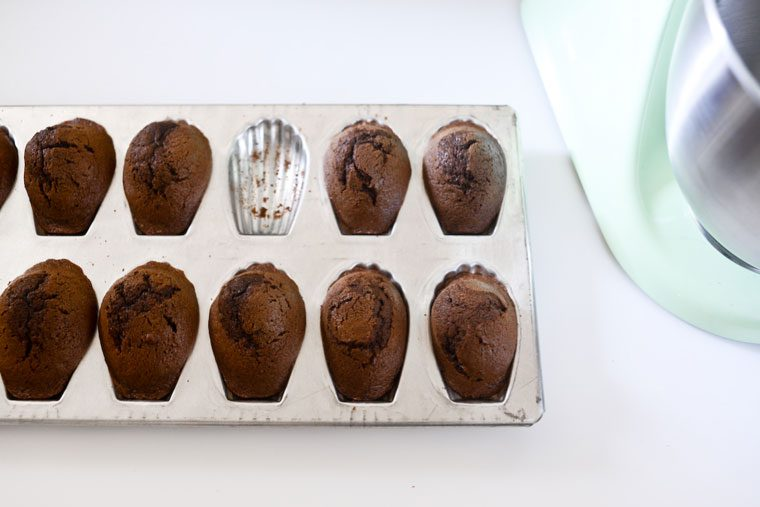 Chocolate Madeleines Recipe