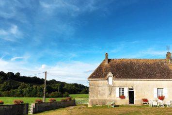 A farmhouse in the Perche