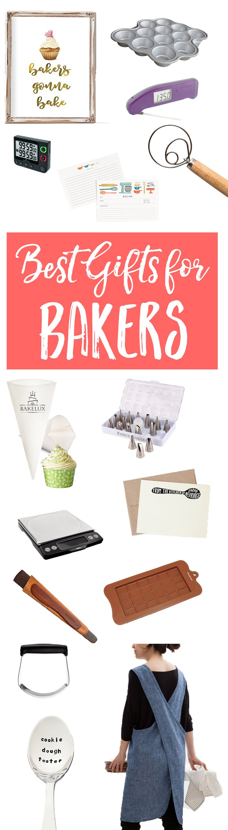 Best Gifts for Bakers: Got a friend or family member with a baking obsession? Here are the best gifts for bakers, who make the world a whole lot sweeter.
