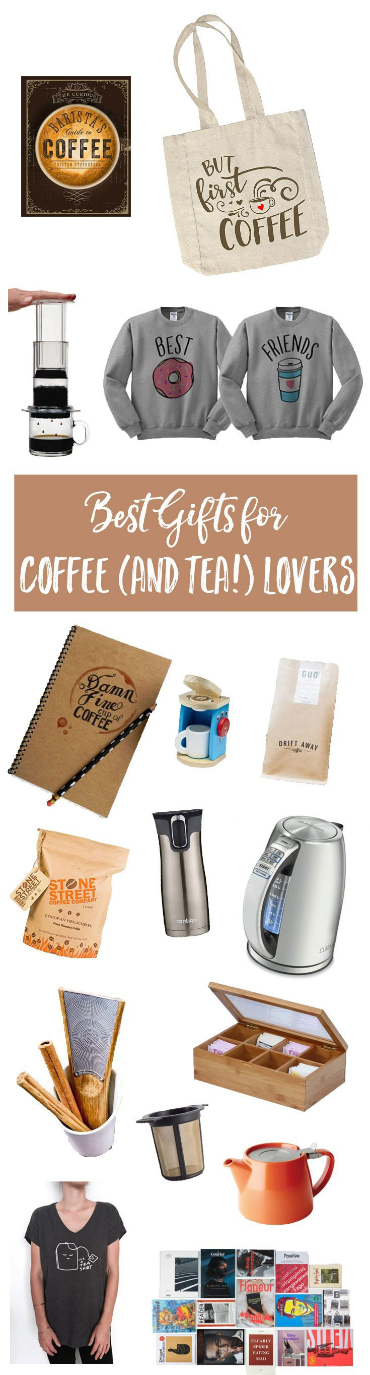 Best Gifts for Coffee (and Tea) Lovers