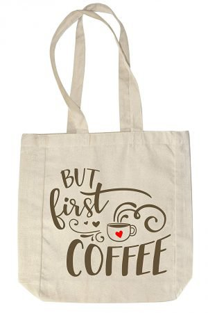 """But first, coffee"" Tote Bag"