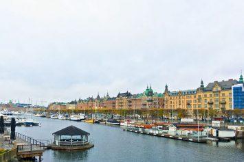The view from Djurgårdsbron