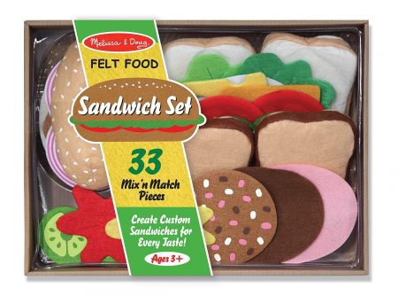 Sandwich-making set