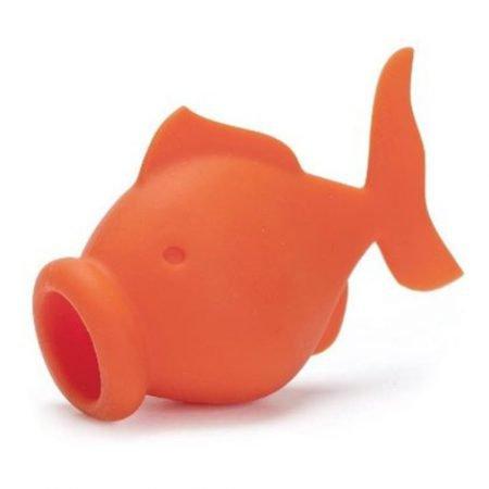 Fish yolk separator