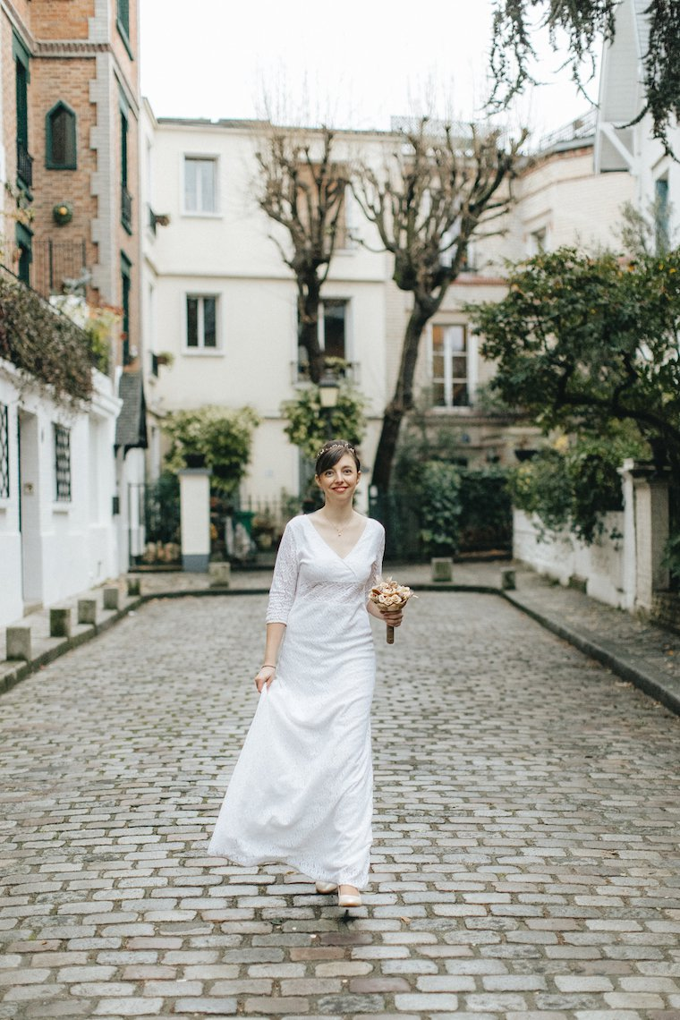 Ethical wedding dress by My Philosophy