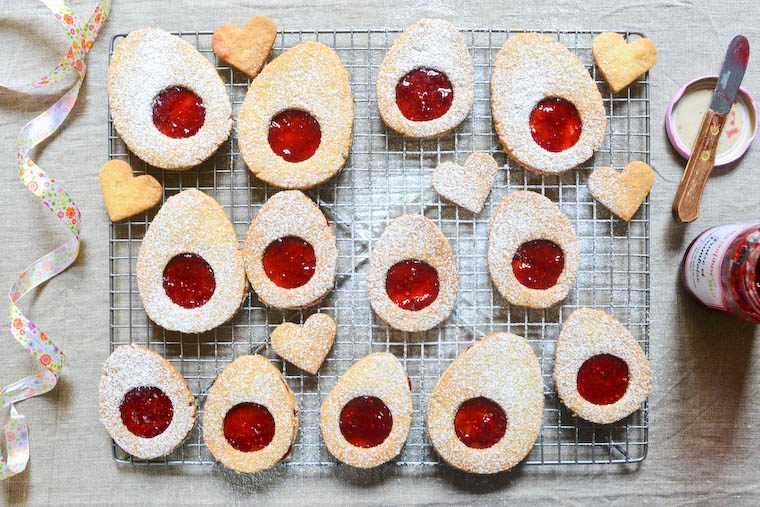 Easter Egg Jam Cookies Recipe