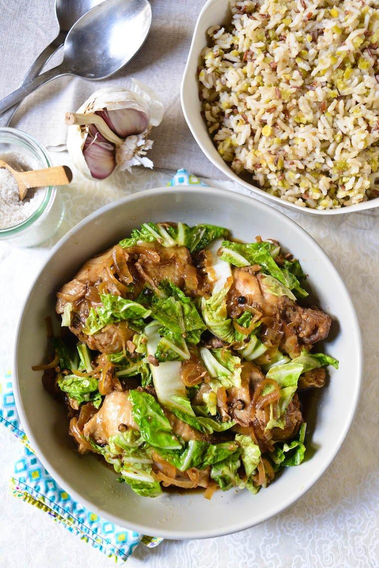 Slow Cooker Filipino Chicken