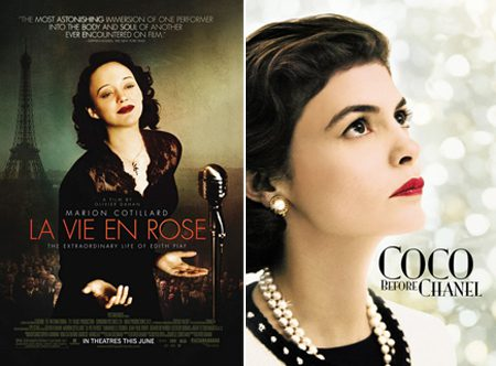 La Vie en Rose and Coco Before Chanel