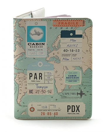 Paris passport holder