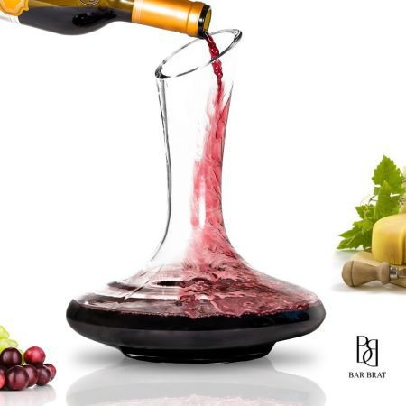 Decanting wine carafe