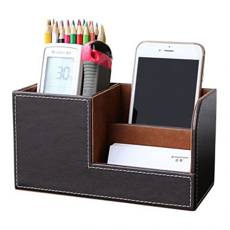 Pencil holder and desk organizer