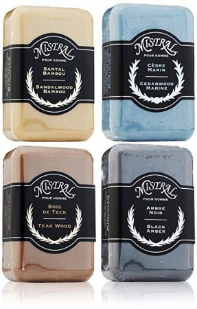 French men's soaps