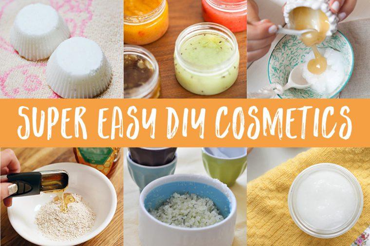 Super Easy DIY Cosmetics