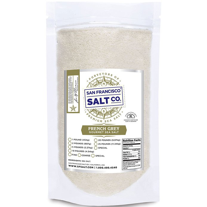 San Francisco French Grey Sea Salt