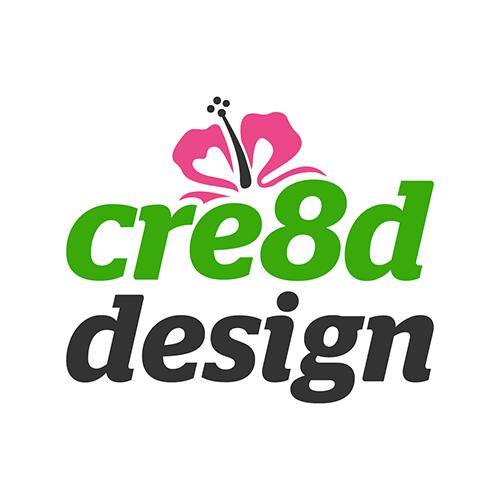 cre8d design logo