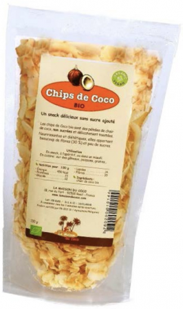 Coconut chips from La Maison du Coco