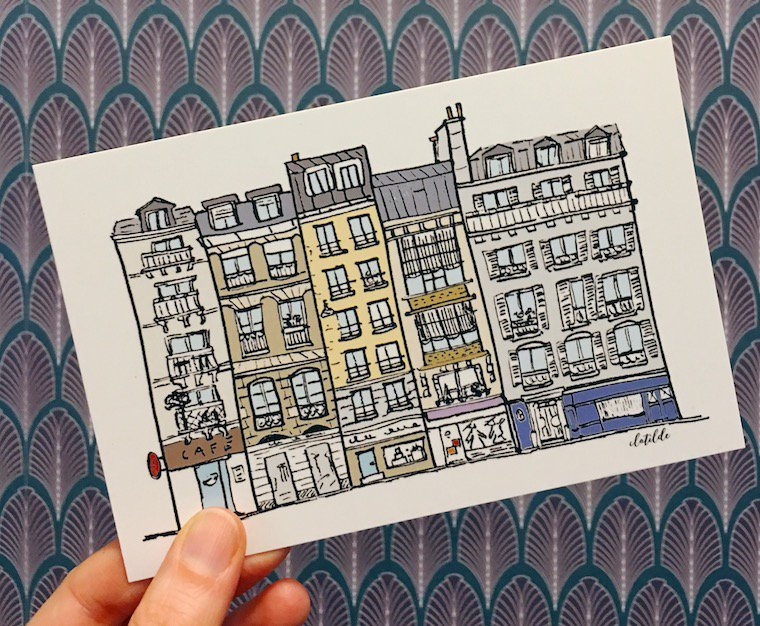 Montmartre Postcards
